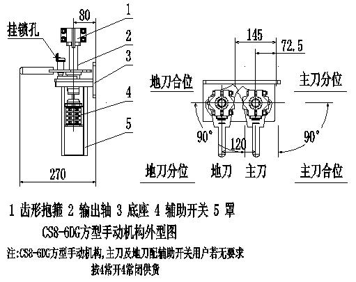 gw4-12dw大电流隔离开关