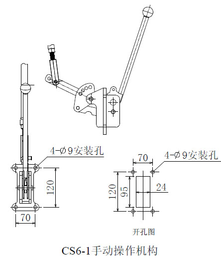 dgn-12户内高压小型化隔离开关